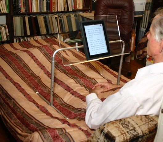 Hospital Bed Book Holder