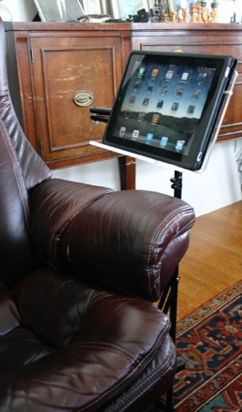 Brilliant Ipad Tablet Floor Stand Read Comfortably In Any Chair Sofa Gmtry Best Dining Table And Chair Ideas Images Gmtryco