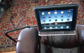 Ipad Tablet Floor Stand Read Comfortably In Any Chair