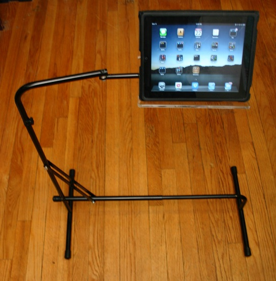Strange Ipad Tablet Floor Stand Read Comfortably In Any Chair Sofa Gmtry Best Dining Table And Chair Ideas Images Gmtryco